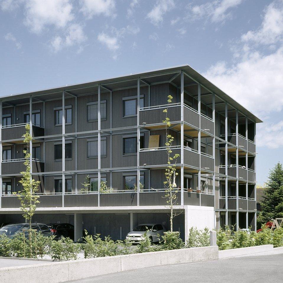 Holzbauweise Wohnbau, drexel architekten