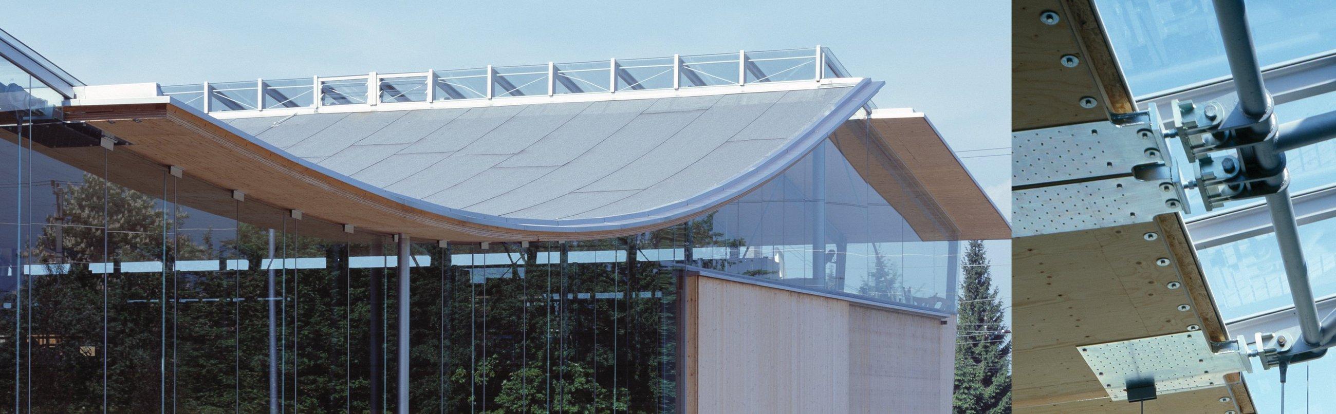 Städtischer Werkhof Hohenems, innovative und kostengünstige Konstruktion