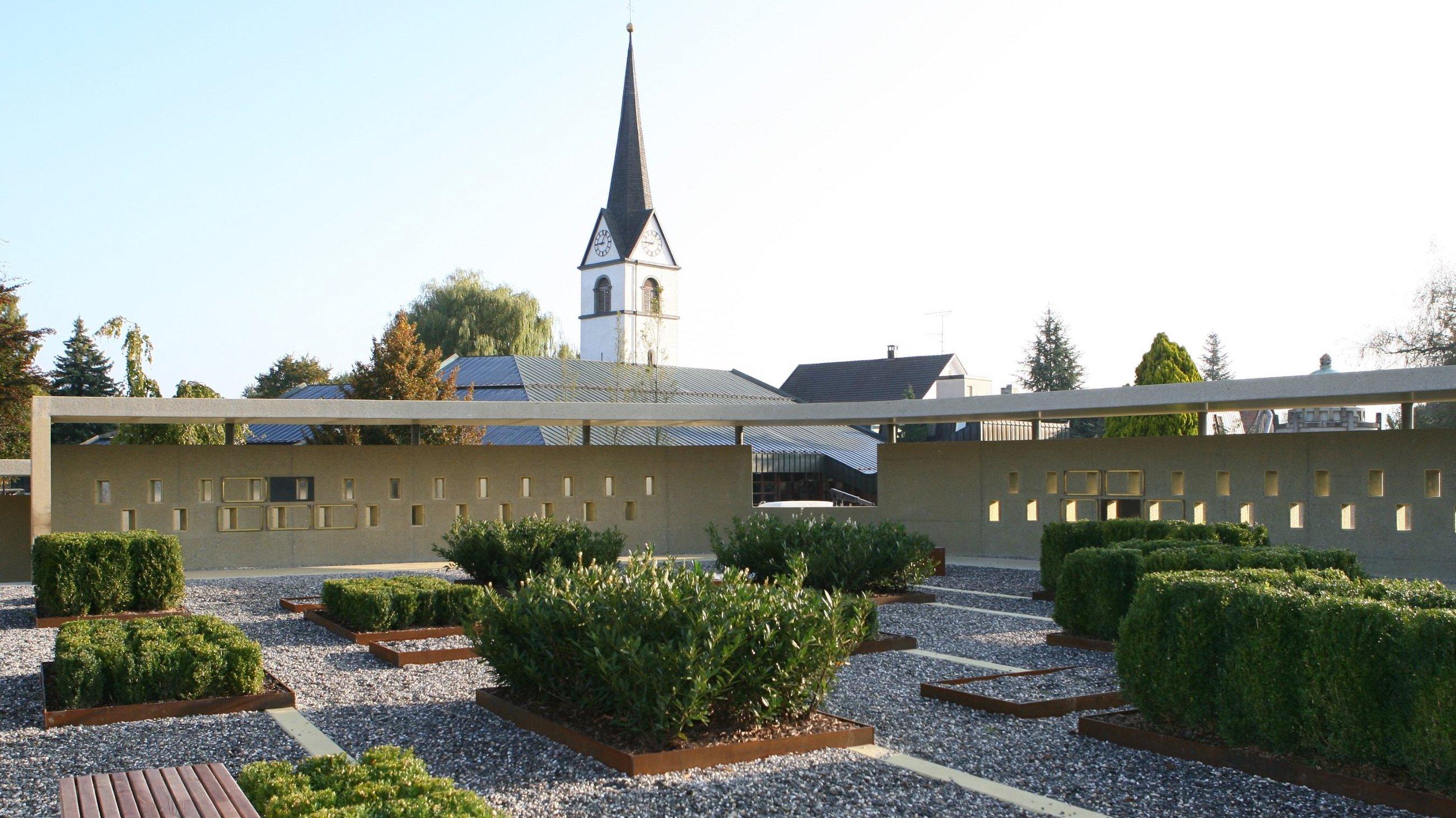 Friedhof, Fussach drexel architekten