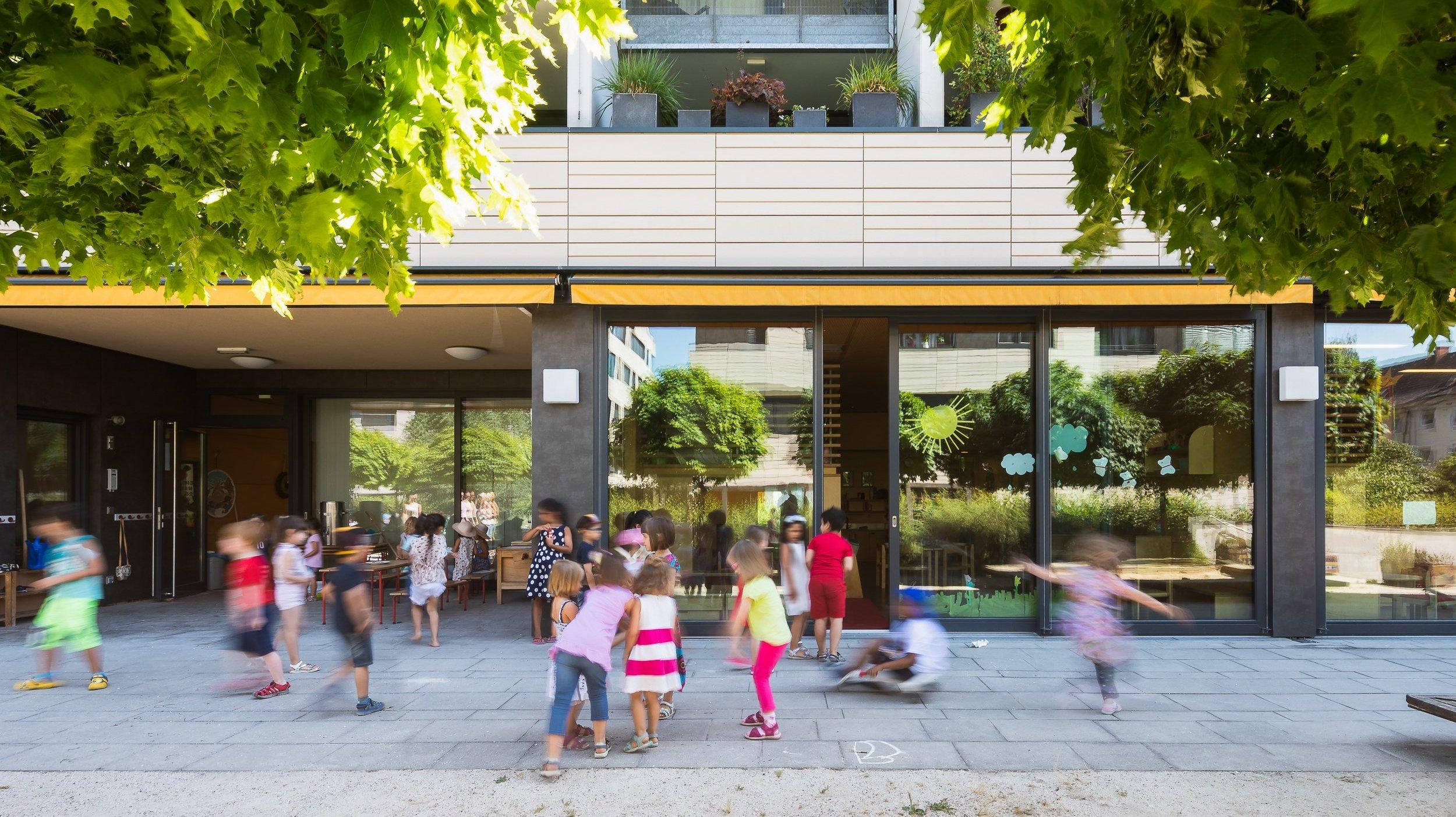 Kindergarten Donaupark Linz