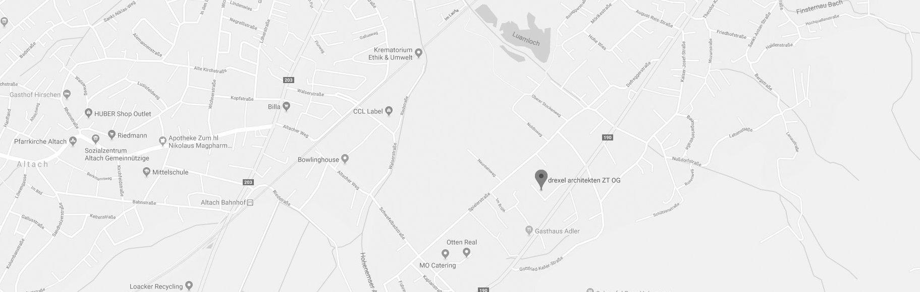 google map drexel architekten
