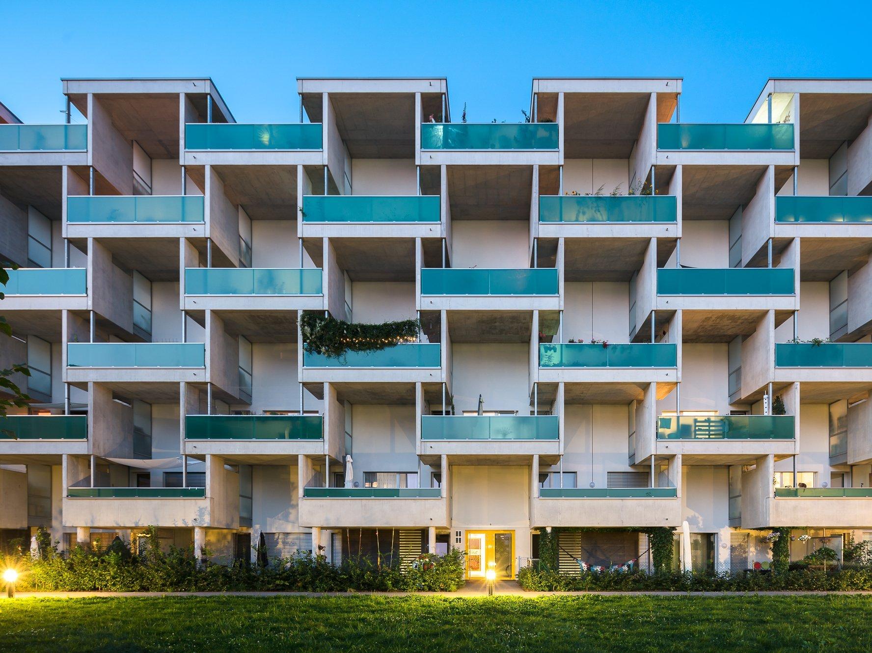 Grüne Mitte, Linz drexel architekten