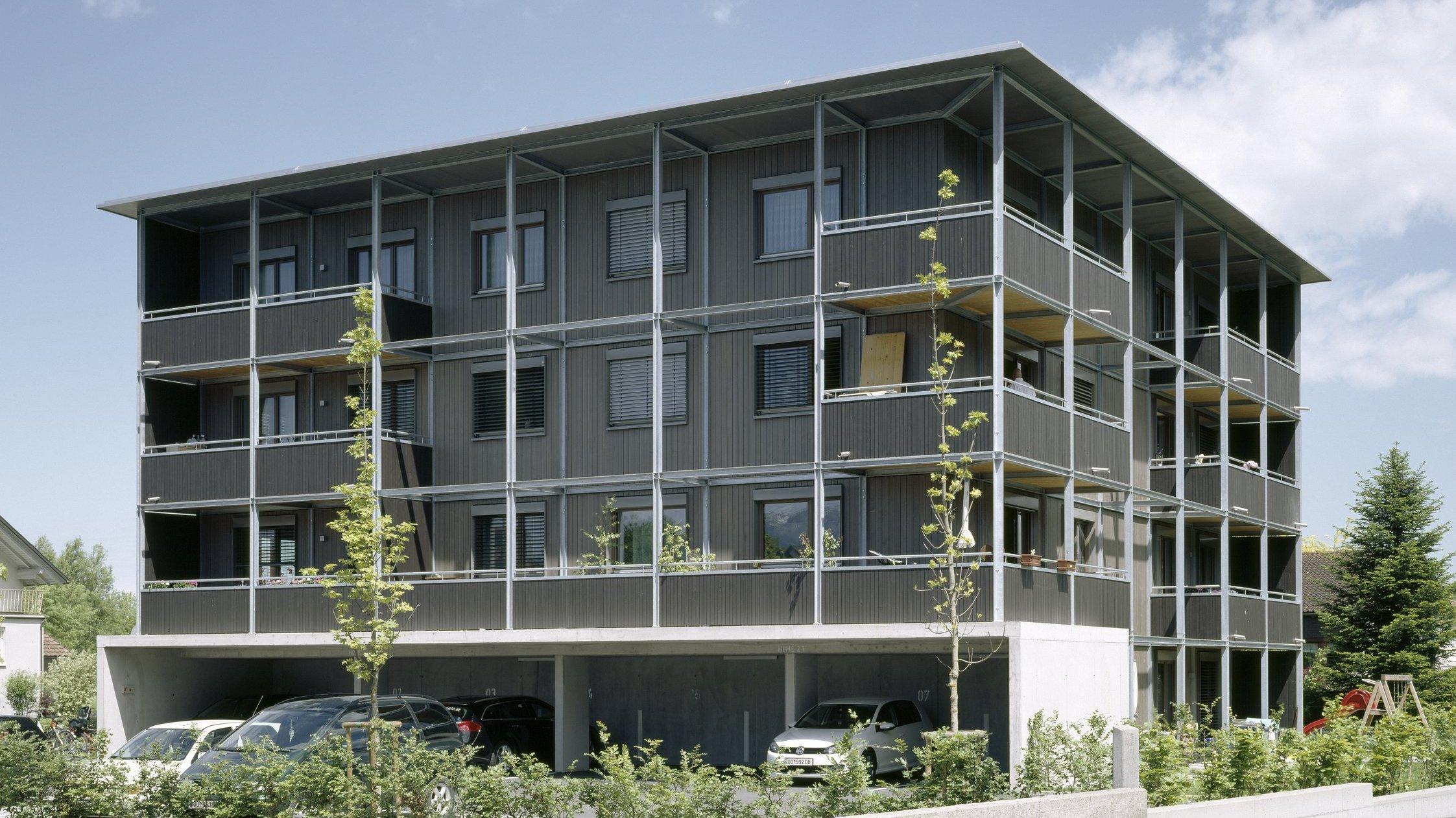 1. Holzwohnbau in Vorarlberg,  drexel architekten