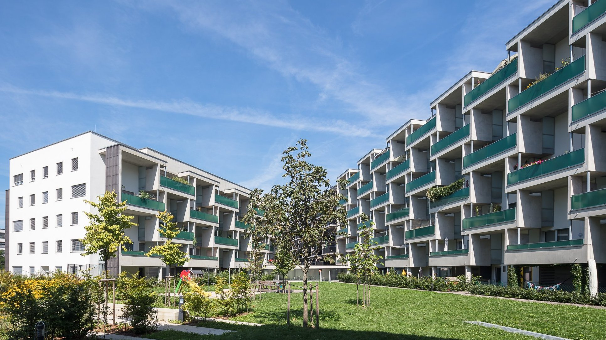 Linz Grüne Mitte, Donau Park