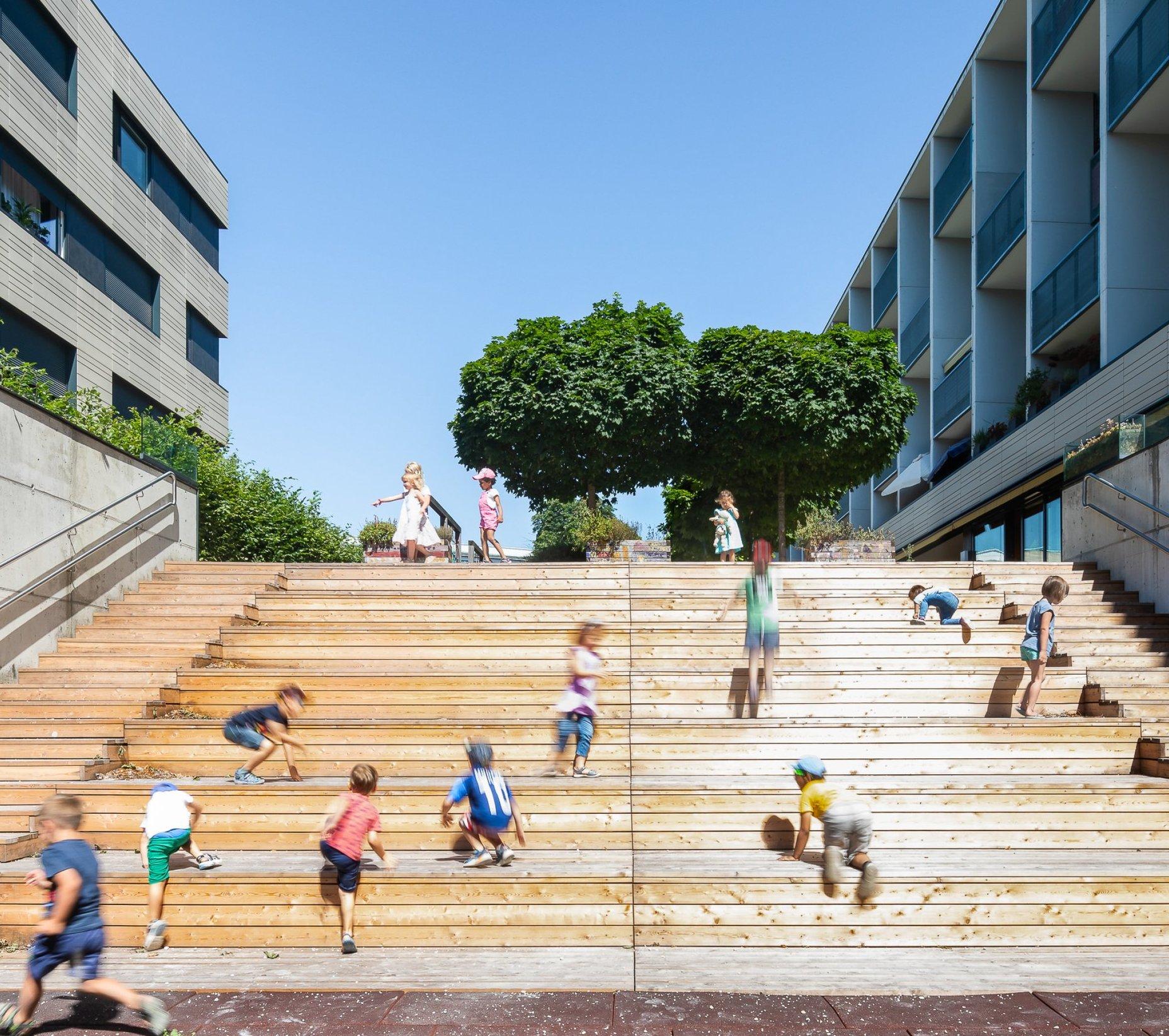 Kindergarten, Linz drexel architekten
